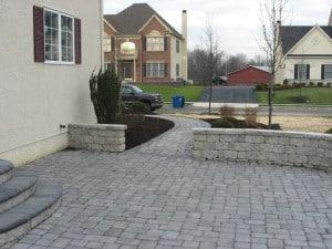 Small Side Yard Landscaping PA