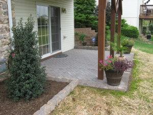 Small Yard patio Design PA