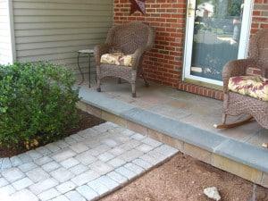 Front Porch Landscape Ideas PA