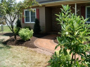 Simple Landscape Ideas for Front of House PA