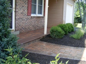 Front Patio Paver Ideas Montgomery County PA
