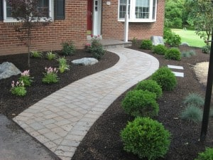 Front Walkway Paver Ideas PA