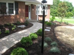 Front Yard Landscape Design PA