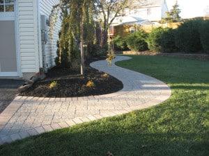 Installing Paving Stones Walkway PA