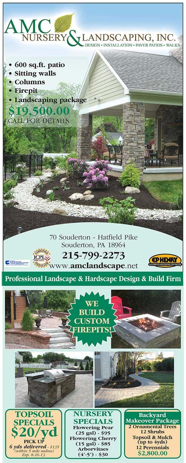 Landscape Specials for August 2013