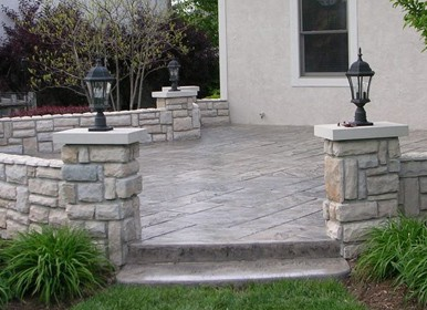 Paver Patios, <br>Walks & Walls